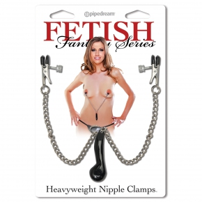 Heavyweight Nipple Clamps — клипсы для сосков, соединенные цепочкой с грузиком