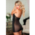 Seven`til Midnight Kisses Chemise & Thong — неглиже с серебристой вставкой