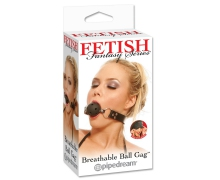 Pipedream Breathable Ball Gag — дышаший кляп-шарик, 4 см
