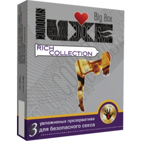 Презервативы Luxe Big Box Rich Collection, 3 шт.