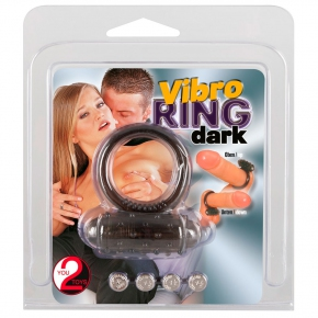 Виброкольцо Orion You2Toys Vibro Ring, черное