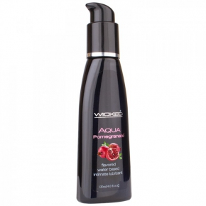 Лубрикант Wicked Aqua Pomegranate, 120 мл.