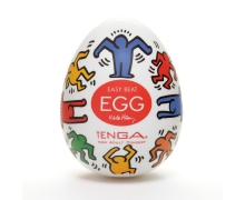 Tenga Keith Haring Egg Dance  — мастурбатор в форме яйца