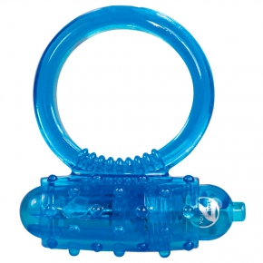 Виброкольцо Orion You2Toys Vibro Ring, голубое