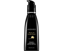 Лубрикант Wicked Aqua Vanilla Bean, 60 мл