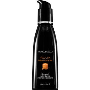 Лубрикант Wicked Aqua Salted Caramel, 60 мл