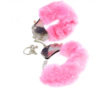 Наручники Pipedream Fetish Fantasy Series Original Furry Cuffs, с розовым мехом