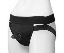Трусики с плугом Doc Johnson Panty Harness with Plug Dual Strap, S-M