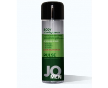 JO Pulse Cucumber Male Body Shaving Cream, 240 мл — крем для бритья