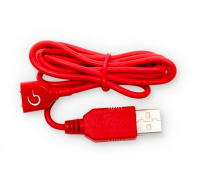 Зарядный кабель Gvibe Magnetic Charging Cord Red